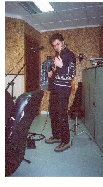 'Check This Out !' Recording Sessions, Latina, Italy, February 2003