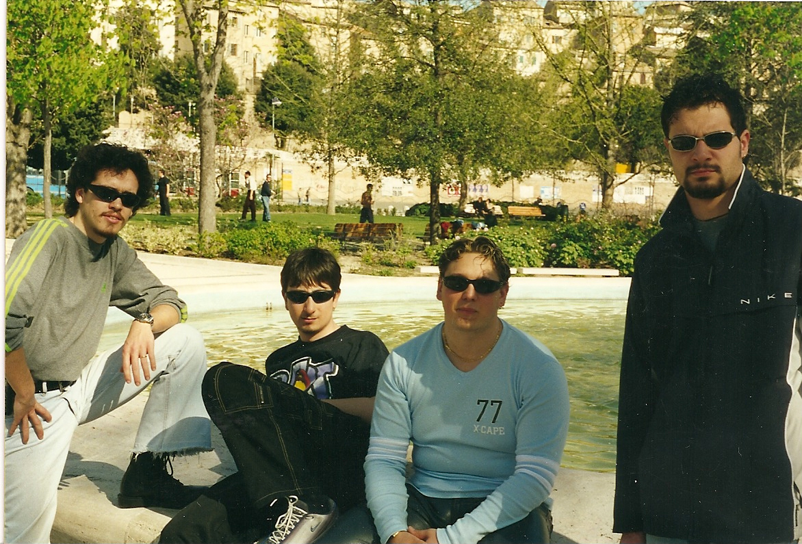 After 'Stealth' Recording Session - March 2001