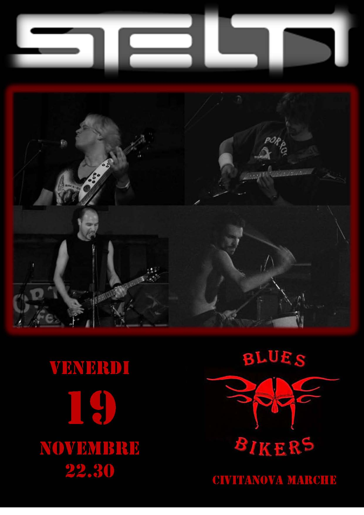 Live@Blues Bikers, Marche, Italy -  19.11.2010