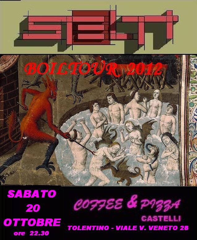 Live@Coffe&Pizza Castelli, Marche, Italy - 20.10.2012