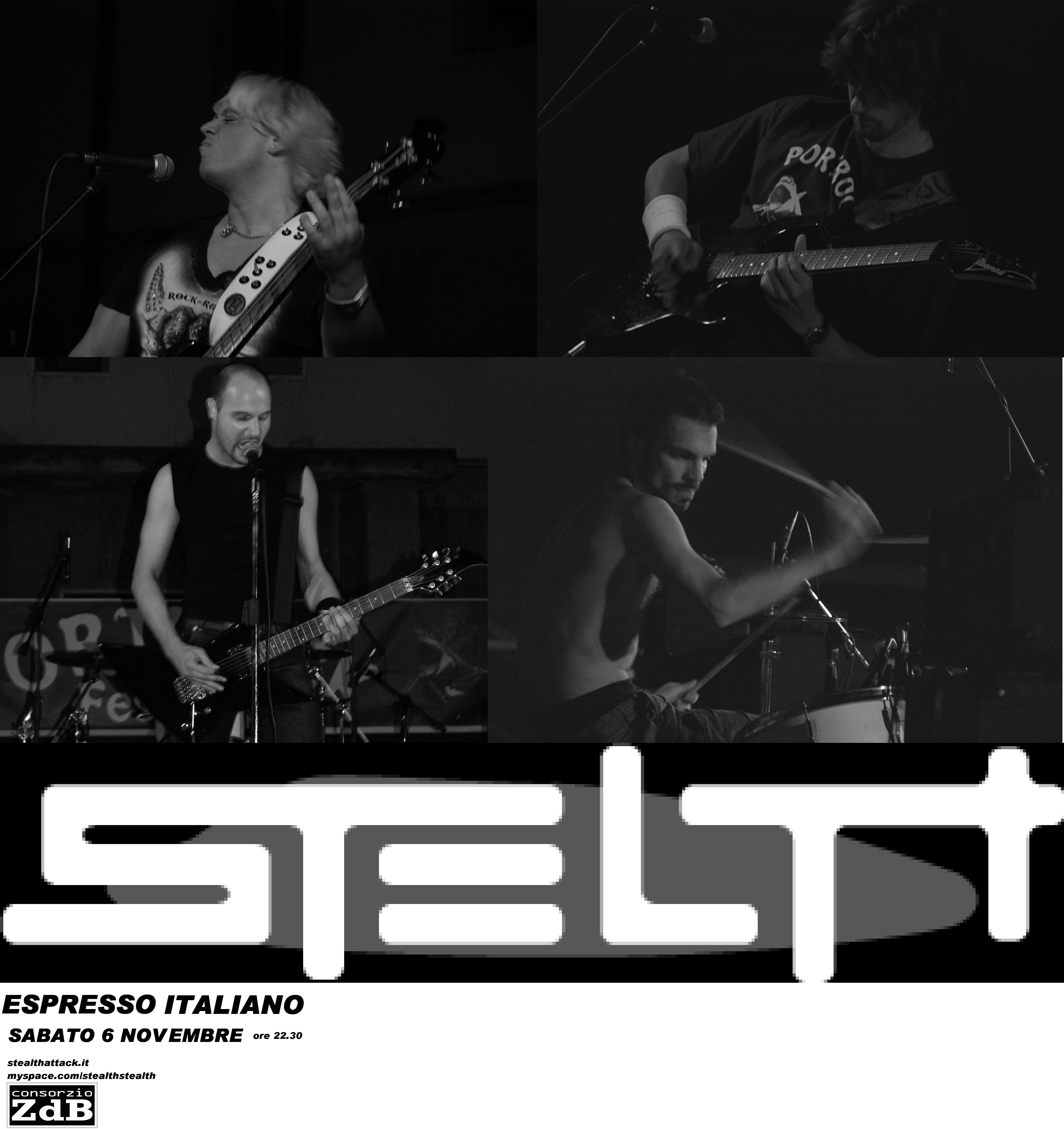 Live@Espresso Italiano, Marche, Italy -  6.11.2010