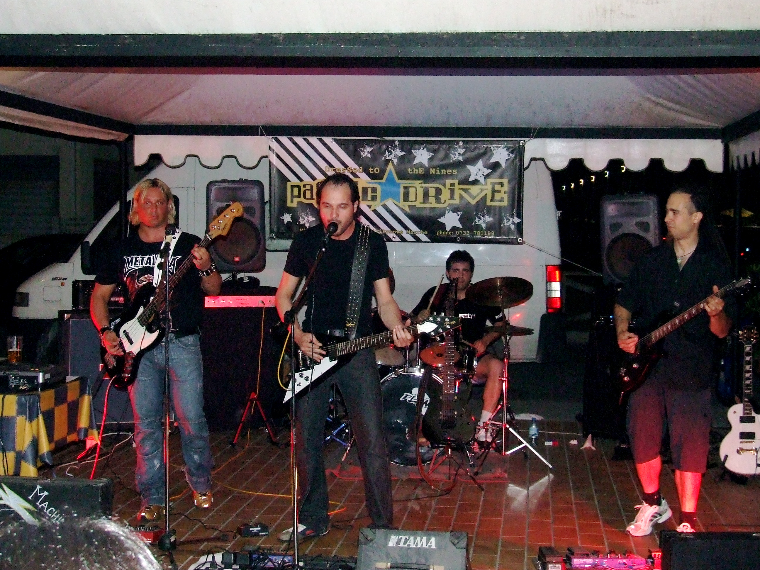 Live@Fever 142, Marche, Italy - 9.6.2007