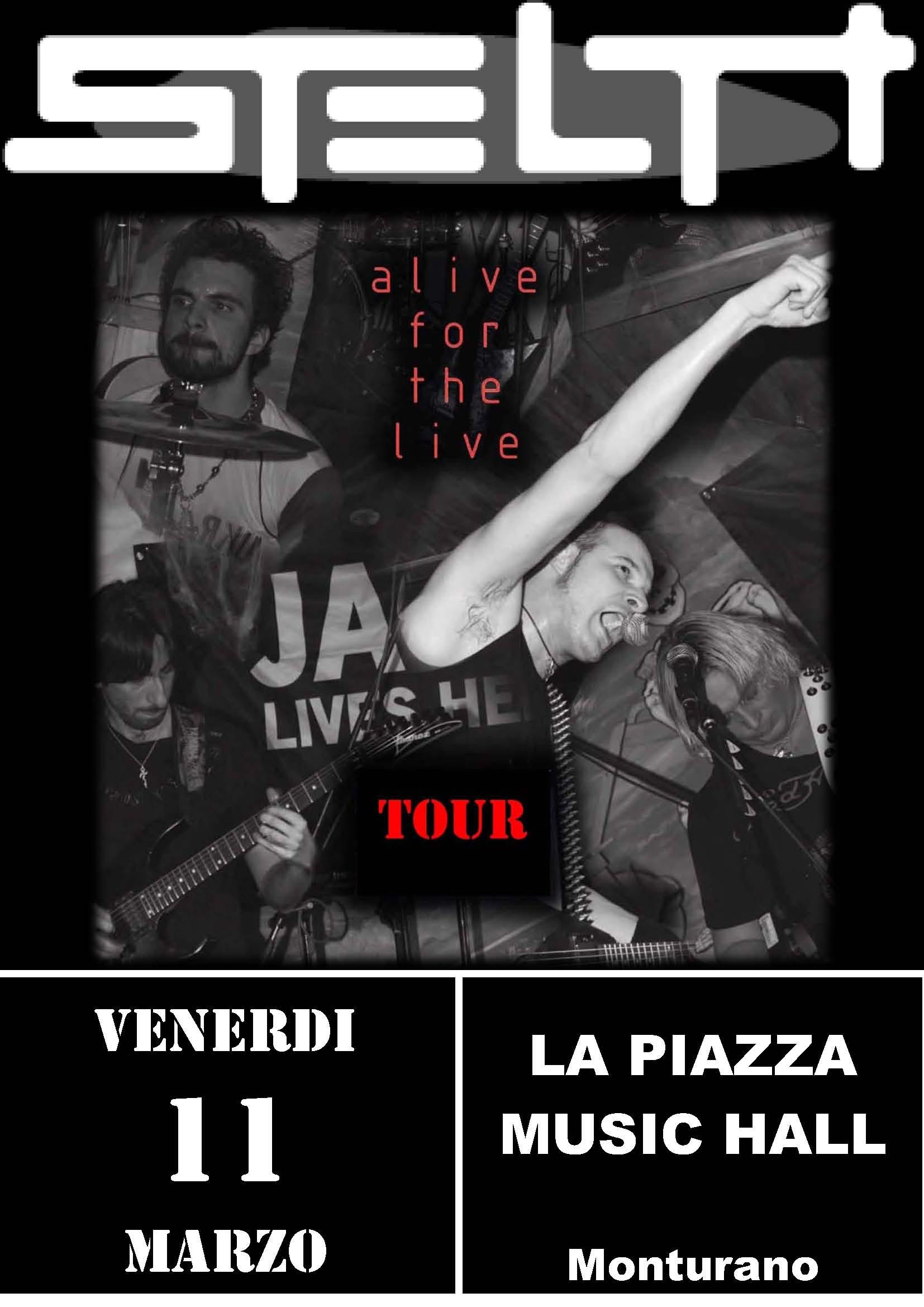 Live@La Piazza Music Hall, Marche, Italy - 11.3.2011