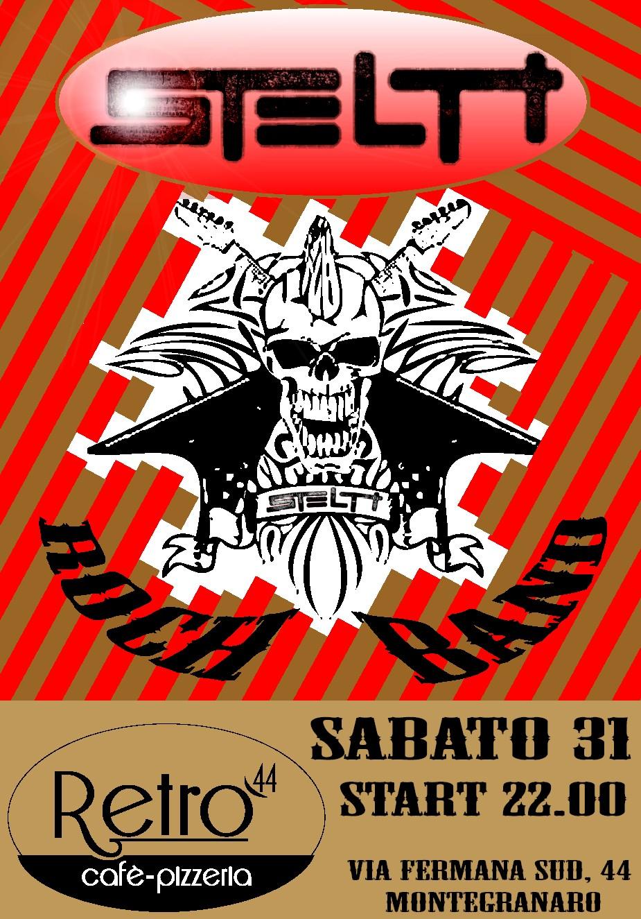 Live@Retro' 44, Marche, Italy - 31.1.2015