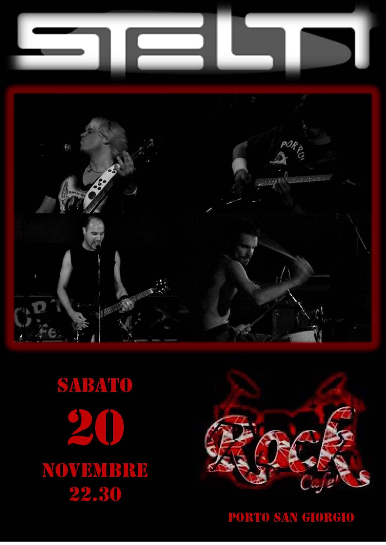 Live@Rock Café, Marche, Italy - 20.11.2010