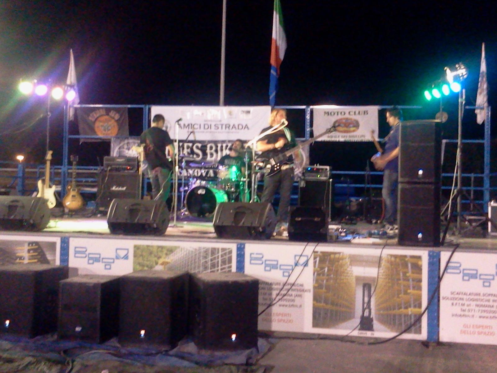 Live@Festa Biker Nazionale, Marche, Italy - 29.9.2012