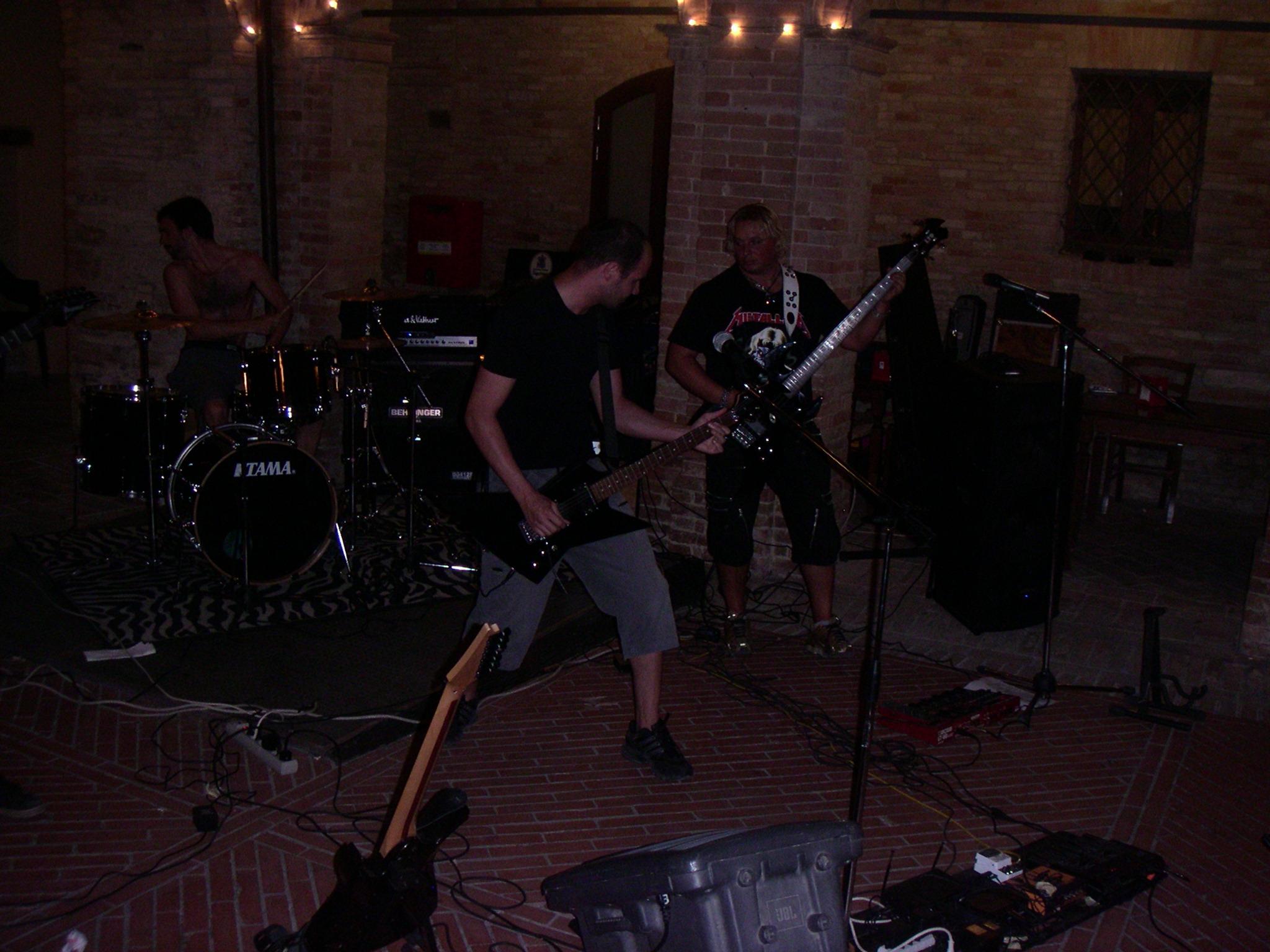 Live@Taverna del Forte, Marche, Italy - 23.7.2010